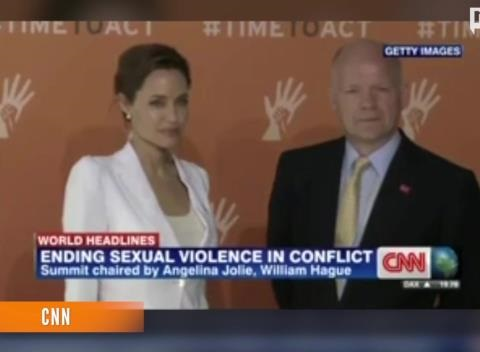 News video: Angelina Jolie Opens Summit To End